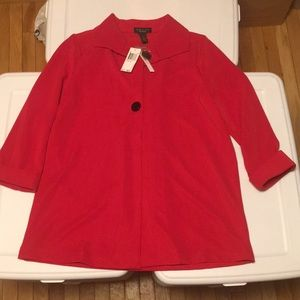 Grace The Perfect Fit Single Button Red Blazer